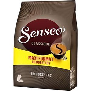 CAFÉ - CHICORÉE SENSEO Café Classique 60 Dosettes Souples - Lot de