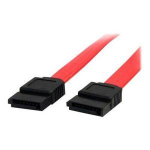 CÂBLE E-SATA Câble SATA de 15 cm - Cordon Serial ATA en rouge -