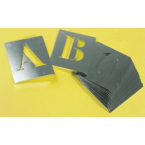 pochoir lettre alphabet hauteur 50 mm achat vente pochoir pochoir lettre alphabet hau. Black Bedroom Furniture Sets. Home Design Ideas