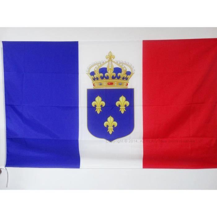 Drapeau Monarchie Constitutionnelle Fran 231 Aise 150x90cm