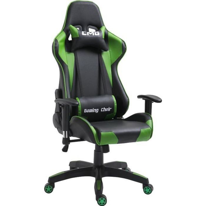 Chaise de bureau GAMING fauteuil gamer chair style racing racer
