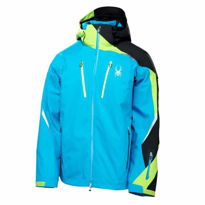 veste de ski homme spyder vyper bleu achat vente veste. Black Bedroom Furniture Sets. Home Design Ideas