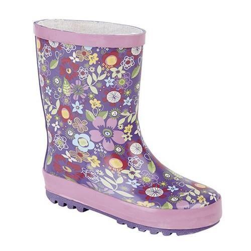StormWells - Bottes de pluie à motif floral - Fille
