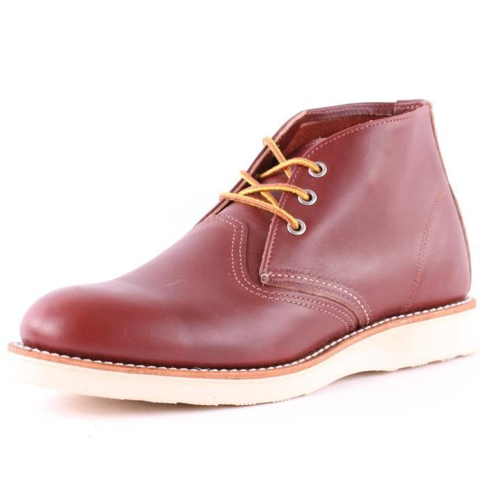 bb45a5c7e59686 Red Wing 3139 Classic Hommes Bottes chukka Rouge foncé - 6 UK Rouge ...