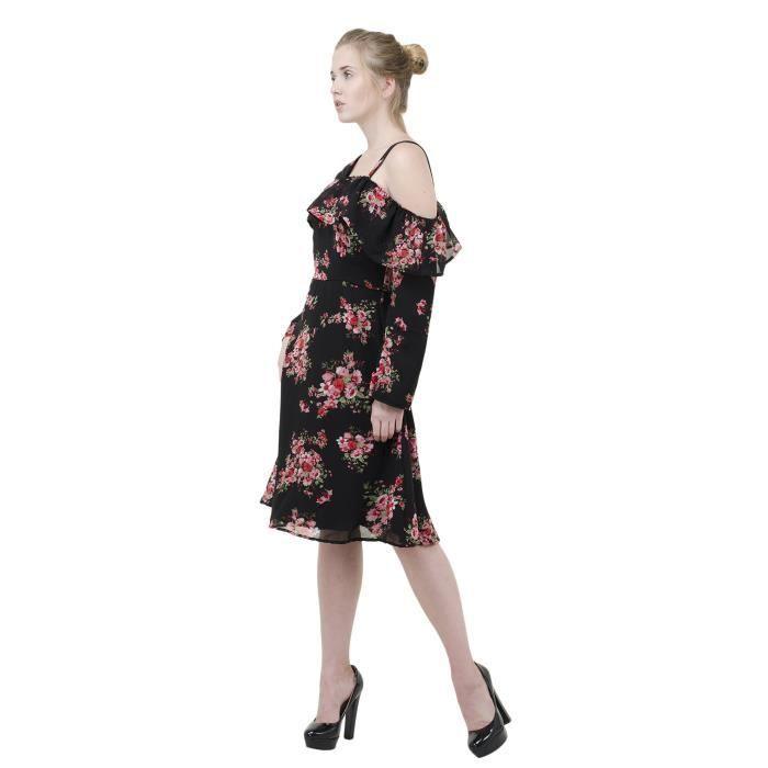 c1253fcb86c6 Women s Western Wear Party Wear Skater Georgette Material Dress For ...