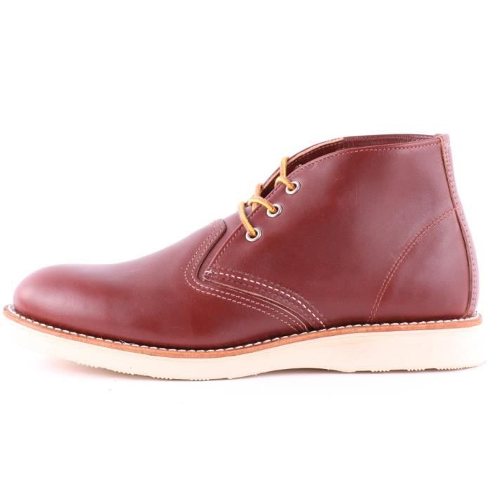 Red Wing 3139 Classic Hommes Bottes chukka Rouge foncé - 6 UK