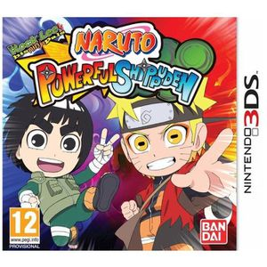 JEU 3DS NARUTO POWERFUL SHIPPUDEN / 2DS-3DS