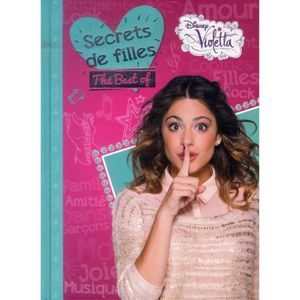 Livre 6-9 ANS Violetta, secrets de Violetta