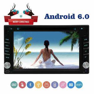 AUTORADIO 6.2 Android 6.0 écran capacitif autoradio lecteur