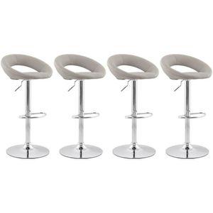 tabouret bar cuir gris achat vente tabouret bar cuir gris pas cher cdiscount. Black Bedroom Furniture Sets. Home Design Ideas