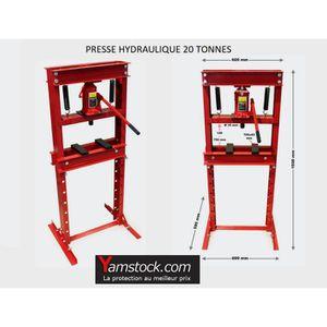 PRESSE Presse hydraulique d 'atelier 20 Tonnes sur colonn