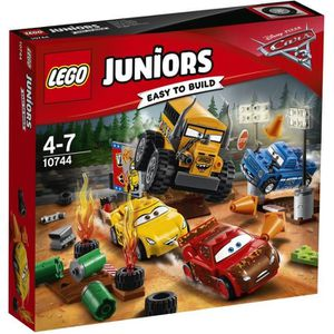 ASSEMBLAGE CONSTRUCTION LEGO® Junior Cars 3 10744 Le Super 8 de Thunder Ho