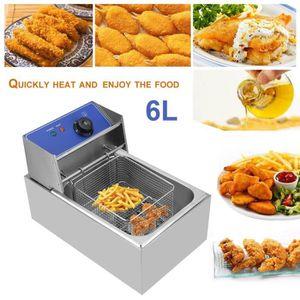 FRITEUSE ELECTRIQUE Friteuse électrique 6L friteuse professionnelle en