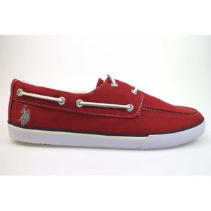 MOCASSIN U.S. POLO ASSN. Chaussures Homme Mocassin Rouge A aa9f90abd3c4