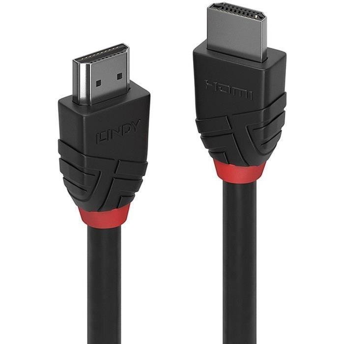 LINDY Câble HDMI High Speed - Black Line - 5m