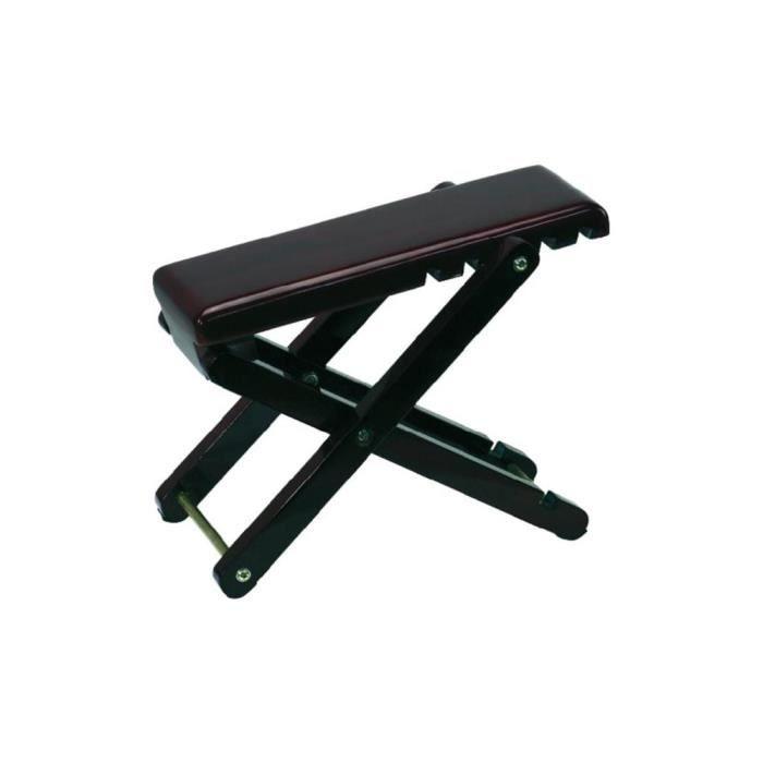 repose pied en bois pour guitare gewa pas cher achat vente pied stand cdiscount. Black Bedroom Furniture Sets. Home Design Ideas