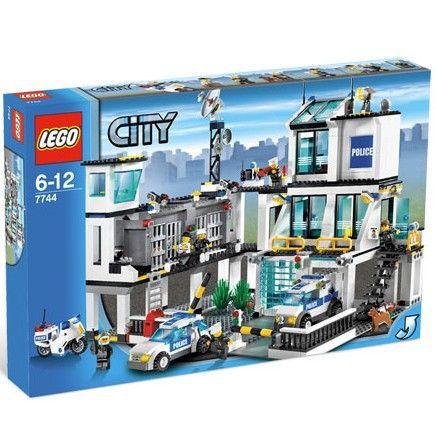 Lego city le poste de police achat vente assemblage for Achat part maison