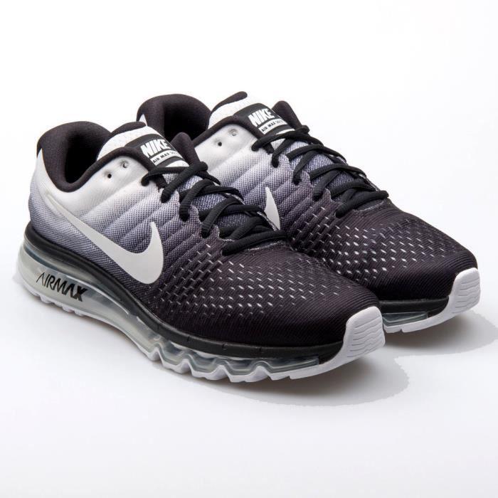 online store 47fd1 e06d6 BASKET Nike Air Max 2017 - 849559-010 noir - blanc
