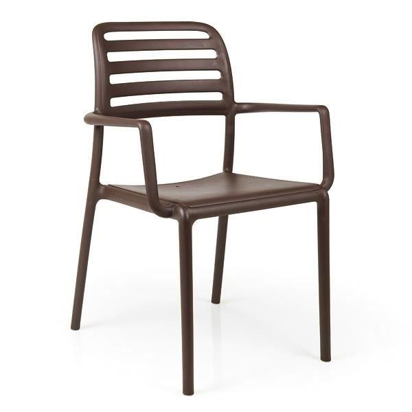 Fauteuil jardin resine NARDI Costa - Café - Achat / Vente fauteuil ...