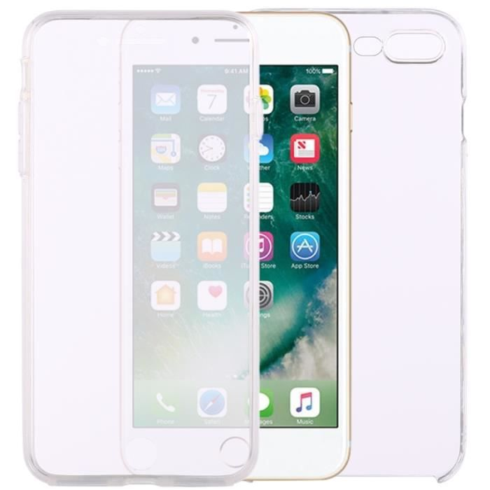 coque iphone 8 double face transparente