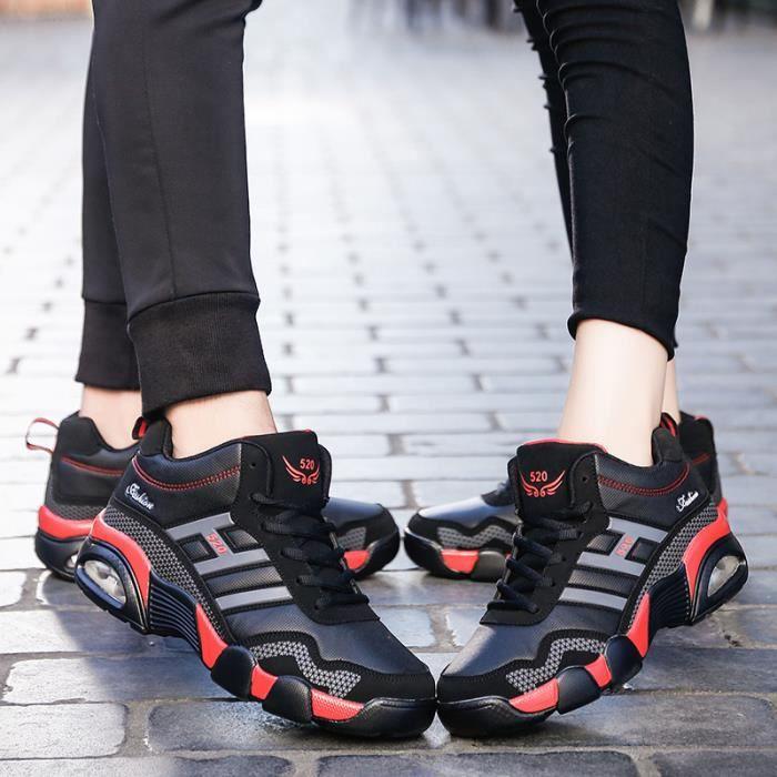 Baskets mode Baskets couples Chaussures de ville Chaussures populaires Chaussures avec coton Sport et loisir Nouveauté Baskets