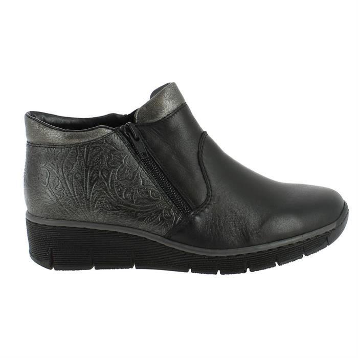 bottines / low boots 537k3 femme rieker 537k3