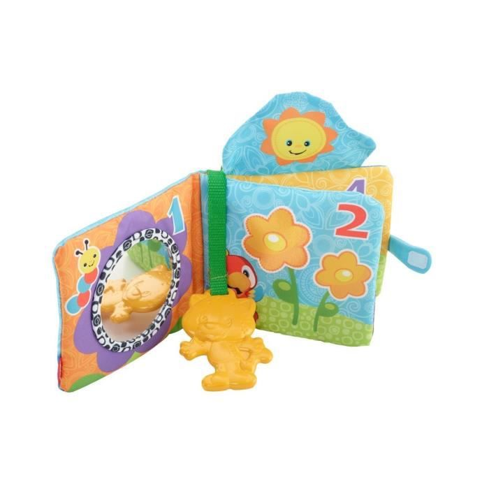 Fisher-price Premiers pas count « n Teethe souple Livre CT1BK KYb5b4