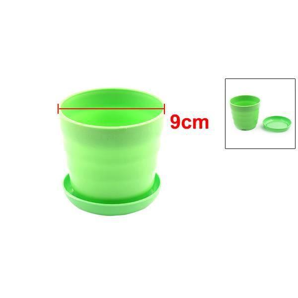 Décor jardin en plastique Pot Fleurs Diamètre 9cm Porte Bac ...