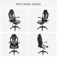 CHAISE DE BUREAU Chaise de bureau gaming ergonomique, style racing,