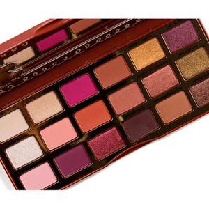 SOIN DES CILS 2018 TOO FACED GINGERBREAD SPICE EYESHADOW PALETTE