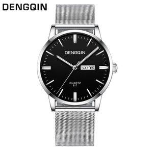 MONTRE 6495@ Dengqin Luxe Date de Mode Hommes Cadran en a