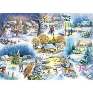 PUZZLE Puzzle 1000 pièces Let It Snow