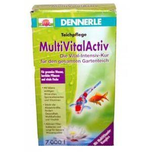 BASSIN D'EXTÉRIEUR Dennerle MultiVital Activ : Vitamines pour bass…