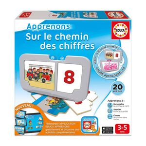 JEU D'APPRENTISSAGE EDUCA Sur Le Chemin Des Chiffres - Jeux Educatif