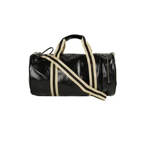 SACOCHE Sac Classic Barrel Fred Perry Noir Or