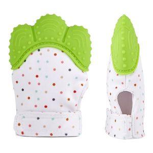 0dd4ffdaaec96 ANNEAU DE DENTITION Moufle de dentition bébé avec sac de voyage - Gant ...