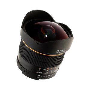 OBJECTIF Objectif fish-eye 8mm f-3,5 Asphérique Monture Nik