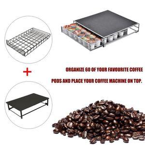 DISTRIBUTEUR CAPSULES 60PCS Tiroir de capsule de café Distributeur de Qu