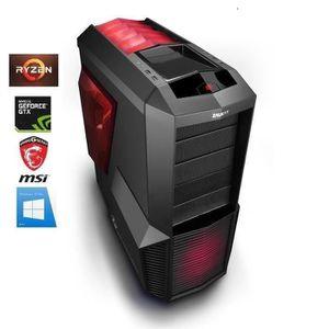 UNITÉ CENTRALE  PC Gamer Ryzen 7 2700X - GeForce GTX 1070 8GO - 16