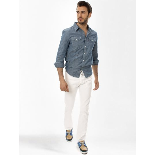 JEANS Jeans Levi's 501 White Knight