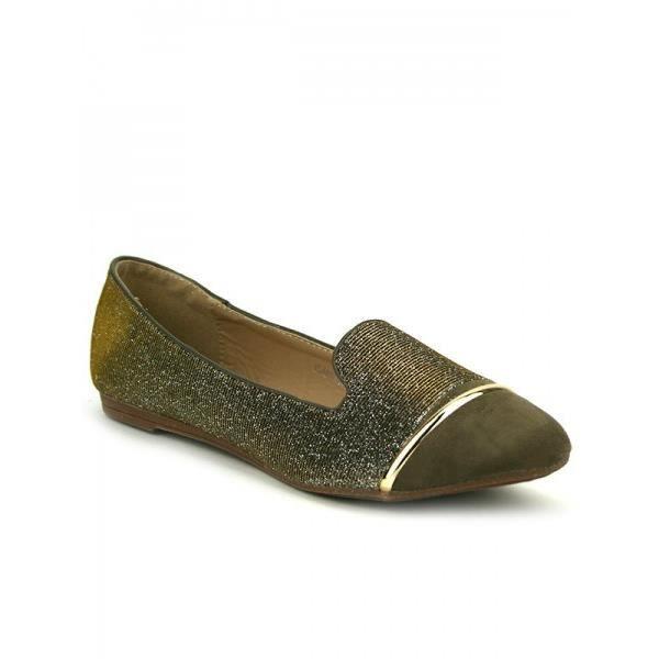 Ballerines Bronze Chaussures Femme, Cendriyon