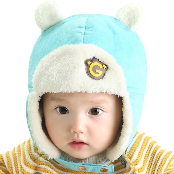 chapka b b enfant hiver cache oreille ajustabl pers achat vente bonnet cagoule cdiscount. Black Bedroom Furniture Sets. Home Design Ideas