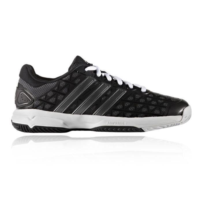 timeless design 77076 da9ae Adidas Barricade Club Xj Enfants Chaussures Sport En Salle Noir