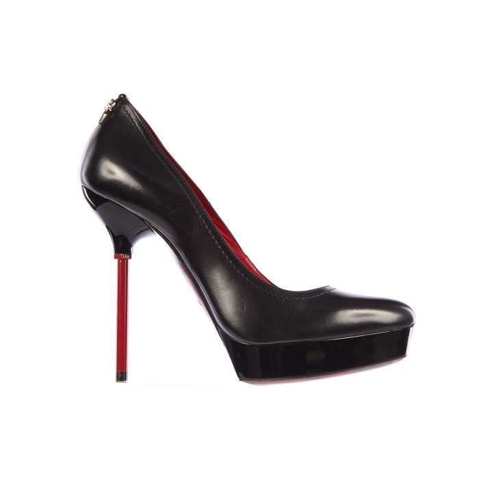 Escarpins chaussures femme 'talon en cuir Cesare Paciotti