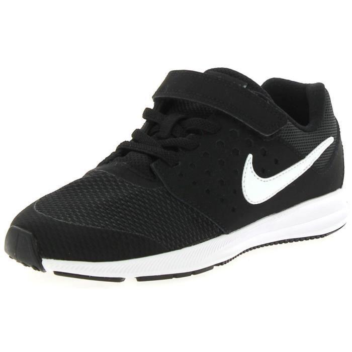 Nike - Nike Downshifter 7 Chaussures de Sport Petit Garçon Noir