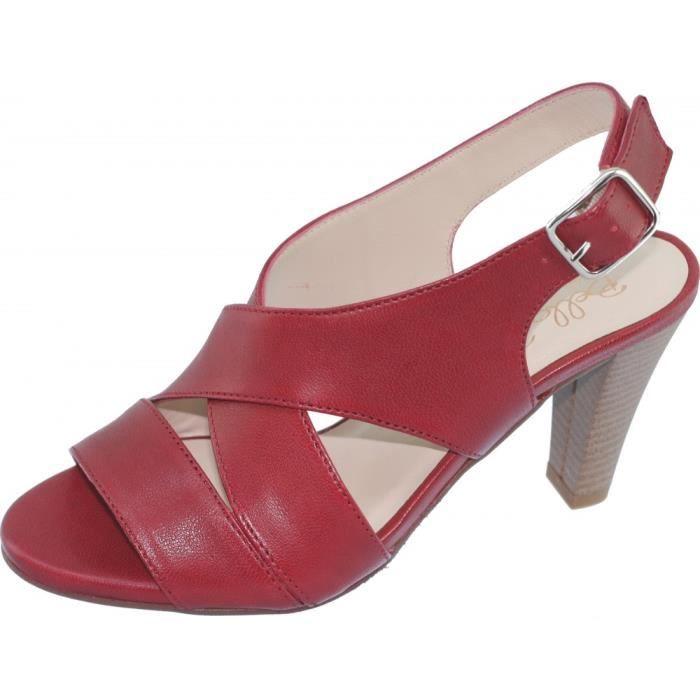 SANDALE - NU-PIEDS VALKYRIE Sandales brides croisées chaussures à tal