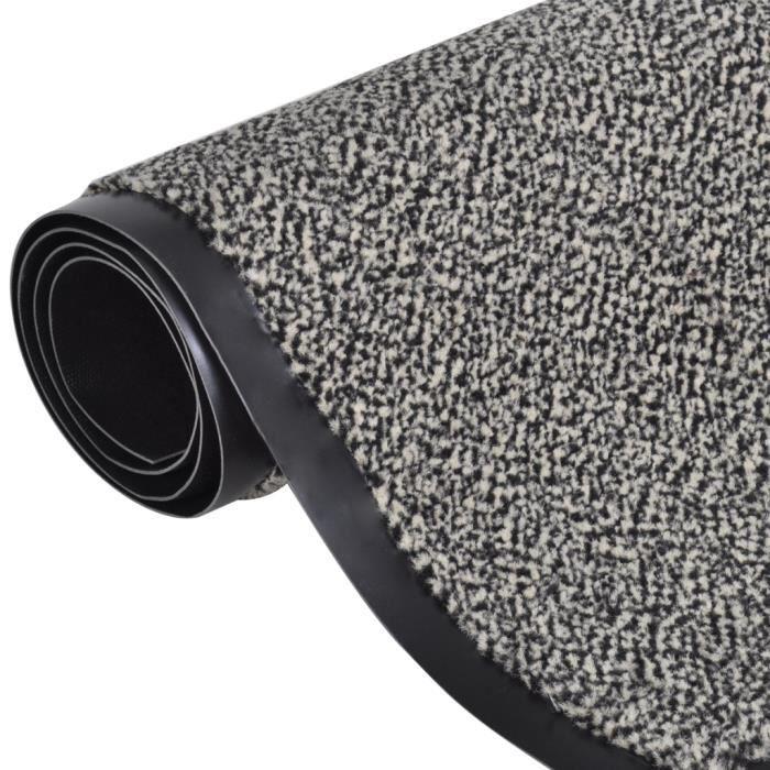 120 x 90 cm tapis de sol beige rectangulaire antid rapant paillasson d 39 entr e pour maison cole. Black Bedroom Furniture Sets. Home Design Ideas