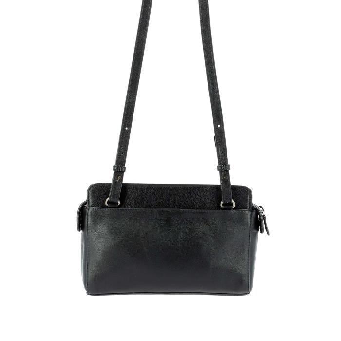 Dudu - Sac porté épaule - Paris - Grace - Noir - femme