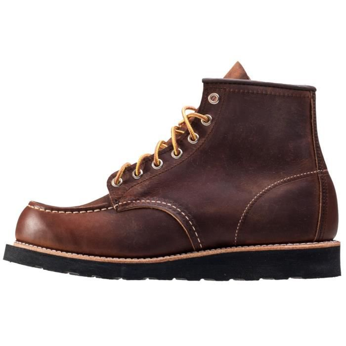 Red Wing 6-inch Moc Toe Hommes Bottes Tan - 7 UK 9qCpGn9