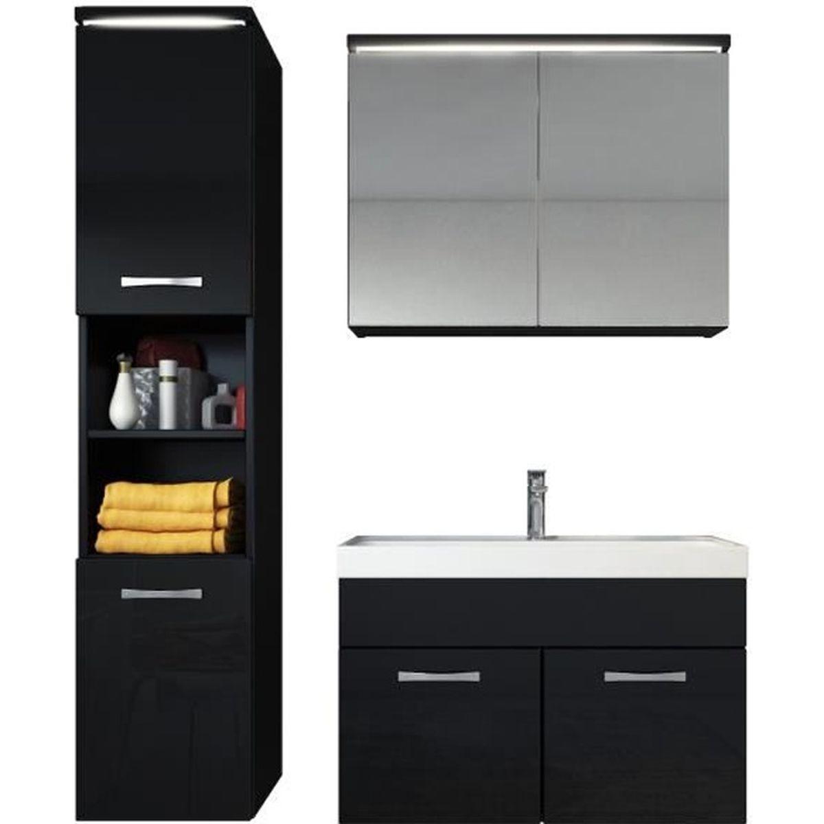 meuble de salle de bain paso armoire de rangement meuble lavabo vier meuble lavabo ch ne. Black Bedroom Furniture Sets. Home Design Ideas
